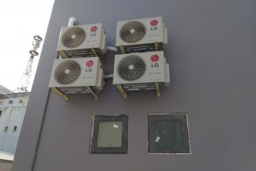 Lắp đặt máy lạnh mùa nóng