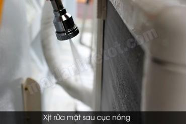 Quy trình vệ sinh máy lạnh treo tường